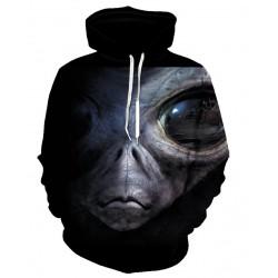 Pull à capuche Alien