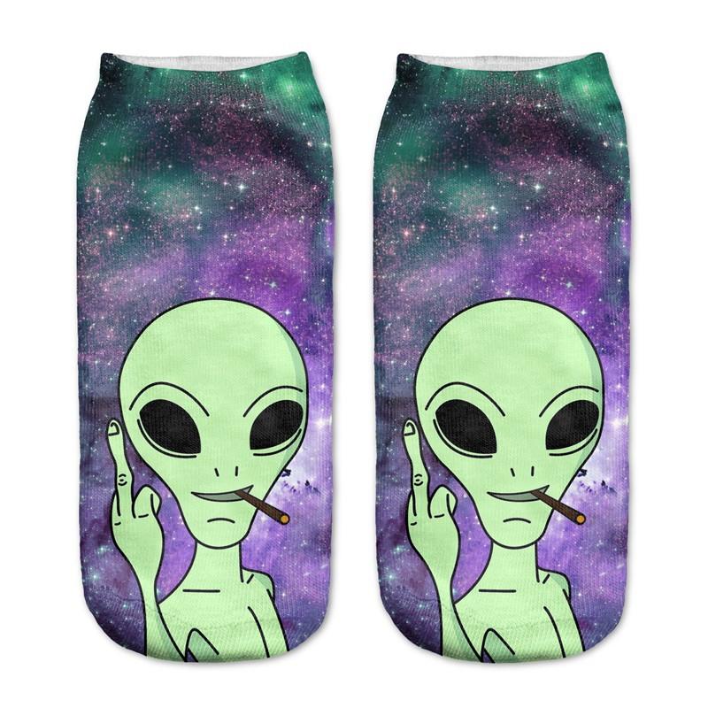 Socquette Alien